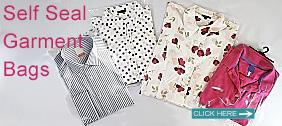 Self Seal Garment Bags